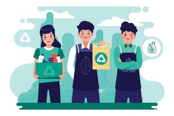 بازیافت تفلون های صنعتی و پلاستیک های فشرده