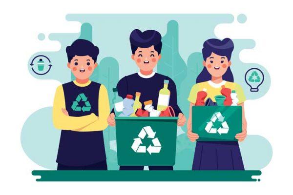 مرتب سازی ضایعات برای بازیافت تفلون صنعتی